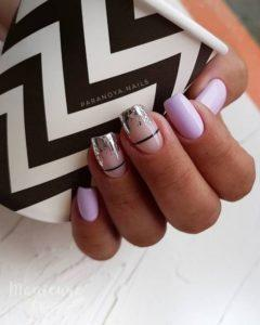 Negative Space Nail Art Design 72