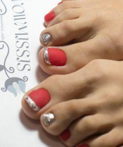 French Pedicure Photos 13