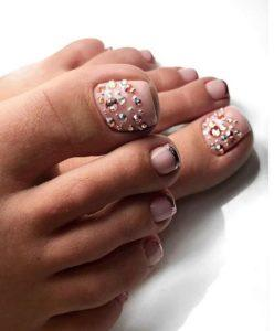 French Pedicure Photos 41